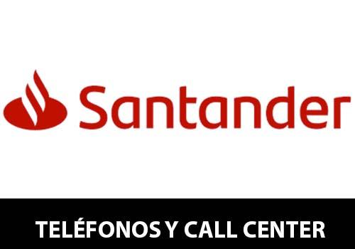 Banco Santander telefono atención al cliente