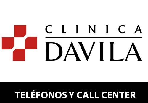 Clínica Dávila telefono atención al cliente