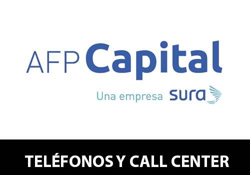 Teléfono AFP Capital