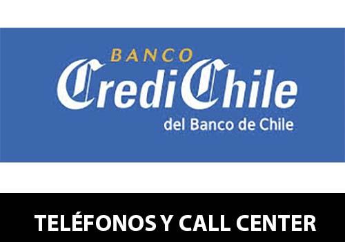 Banco CrediChile telefono atención al cliente