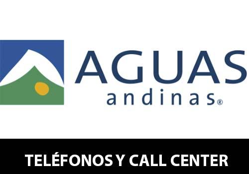Aguas Andinas telefono atención al cliente