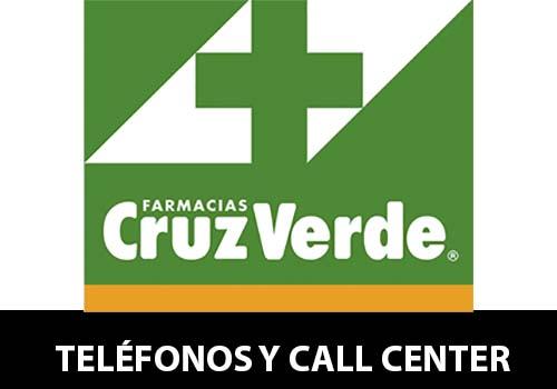 Farmacias Cruz Verde telefono atención al cliente