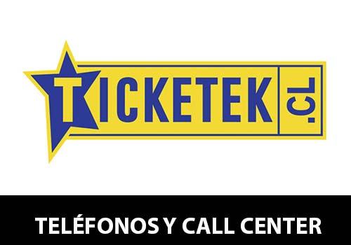 Teléfono Ticketek